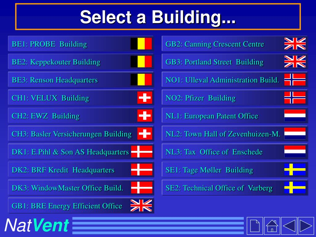 Select a Building...