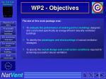 wp2 objectives