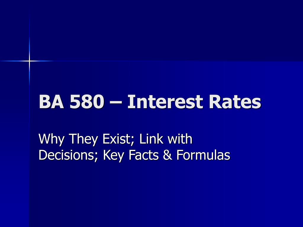 ba 580 interest rates l.
