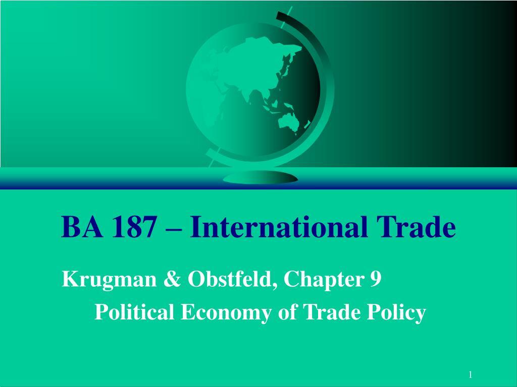 ba 187 international trade l.