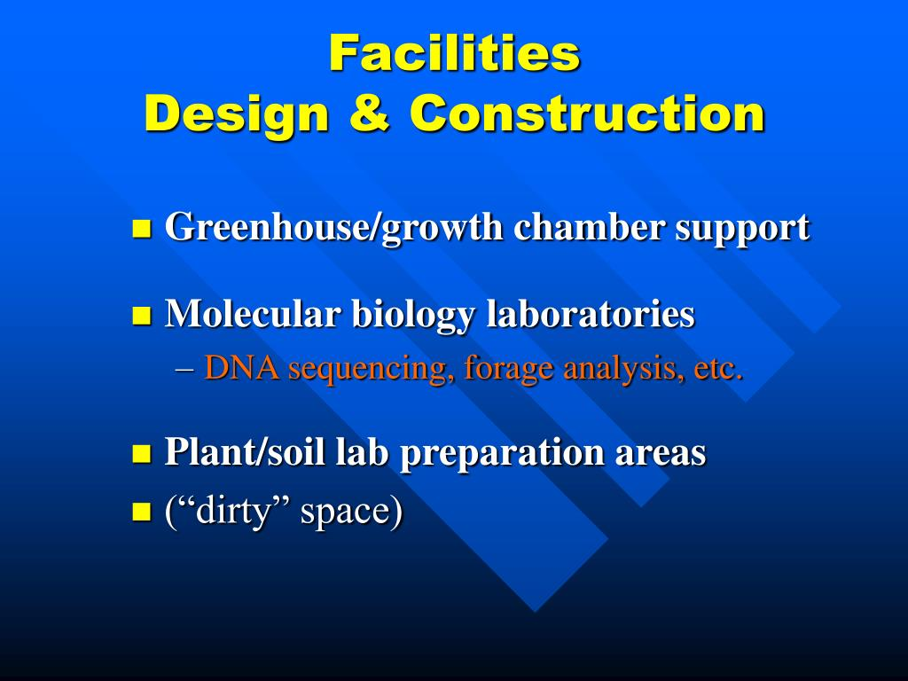 Facilities