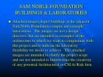 sam noble foundation buildings laboratories