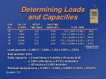 determining loads and capacities64