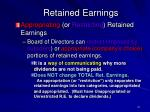 retained earnings31