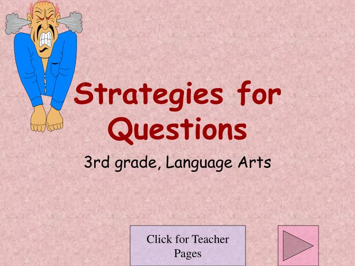 strategies for questions n.