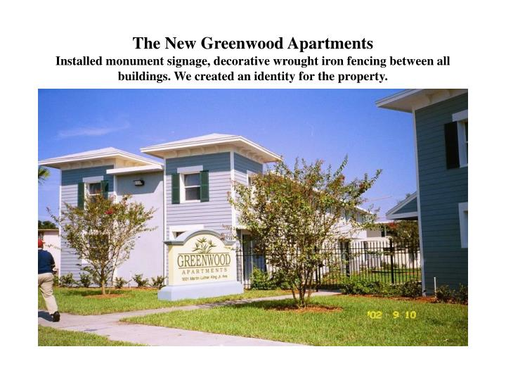 The New Greenwood Apartments