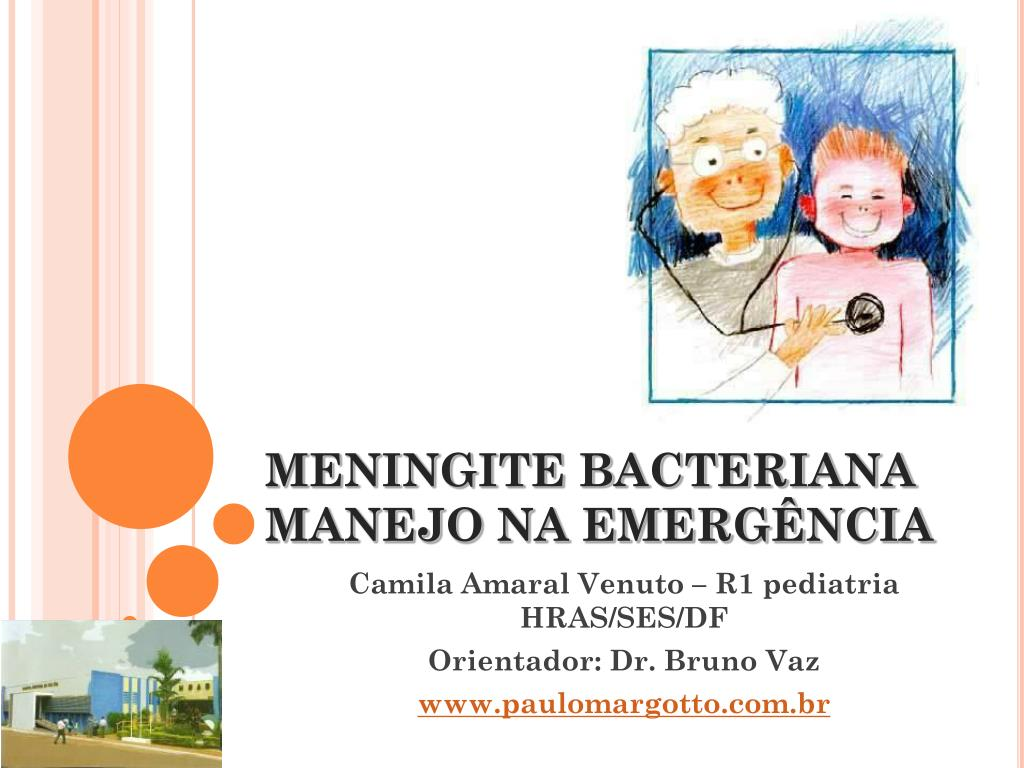 meningite bacteriana manejo na emerg ncia l.