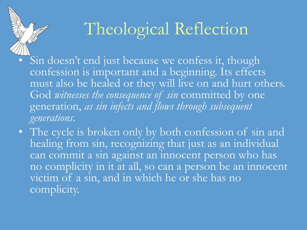 theology reflection