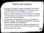 theme and analysis