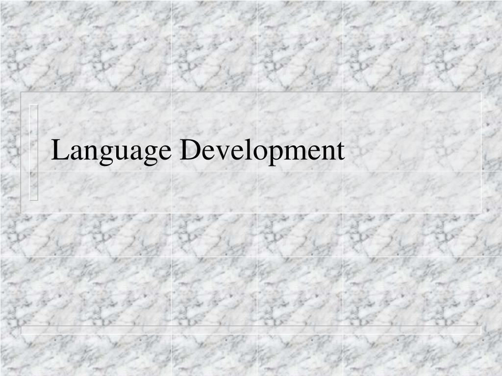 language development l.