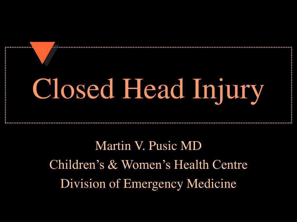 closed head injury l.