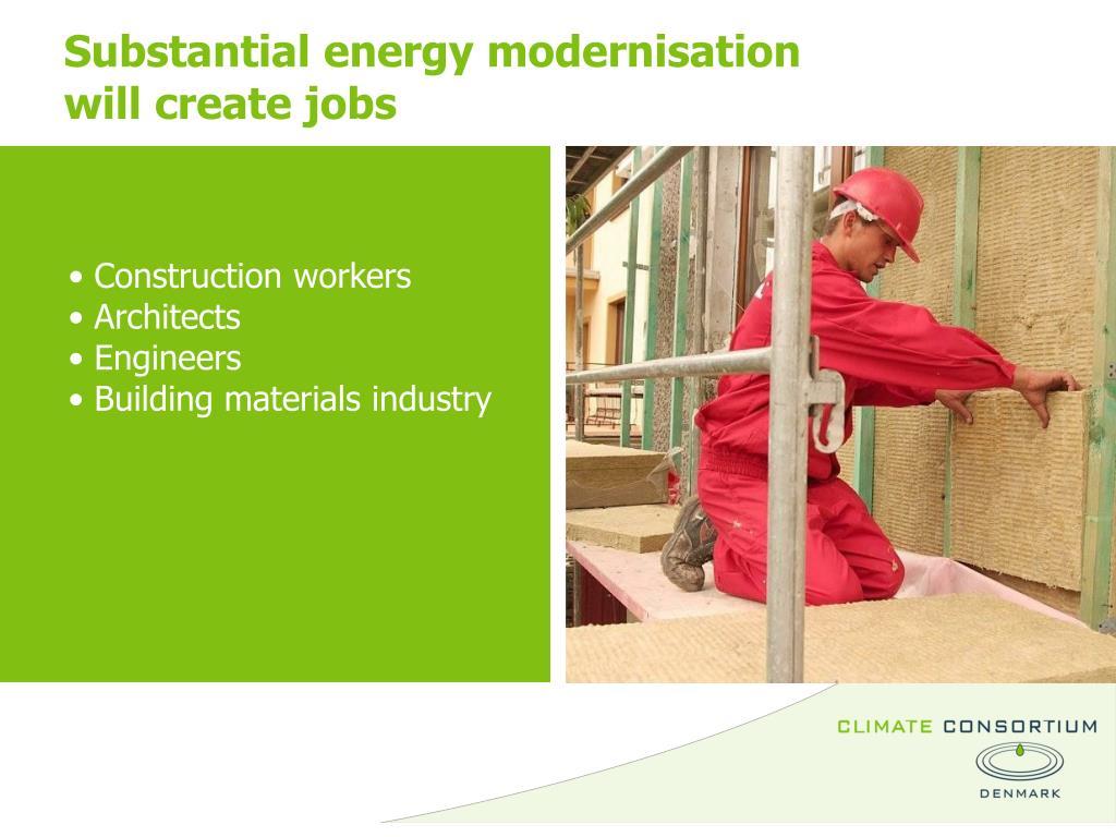 Substantial energy modernisation