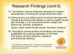 research findings cont d15