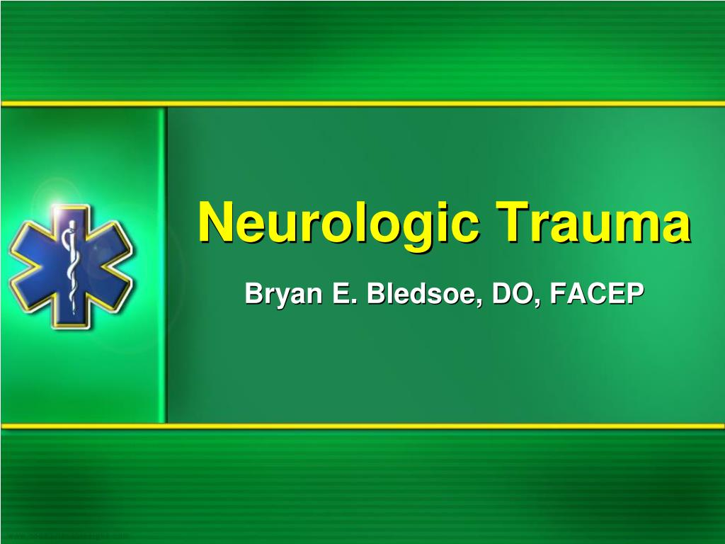 neurologic trauma l.