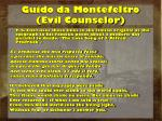 guido da montefeltro evil counselor14