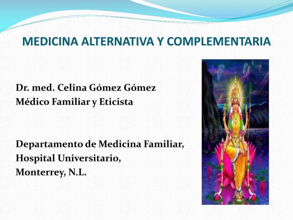 medicina alternativa y complementaria l.