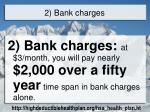 2 bank charges
