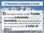 3 restricted availability of funds