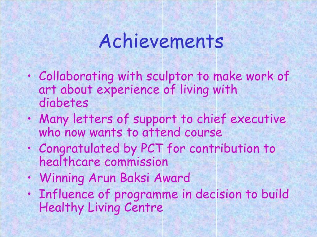Achievements