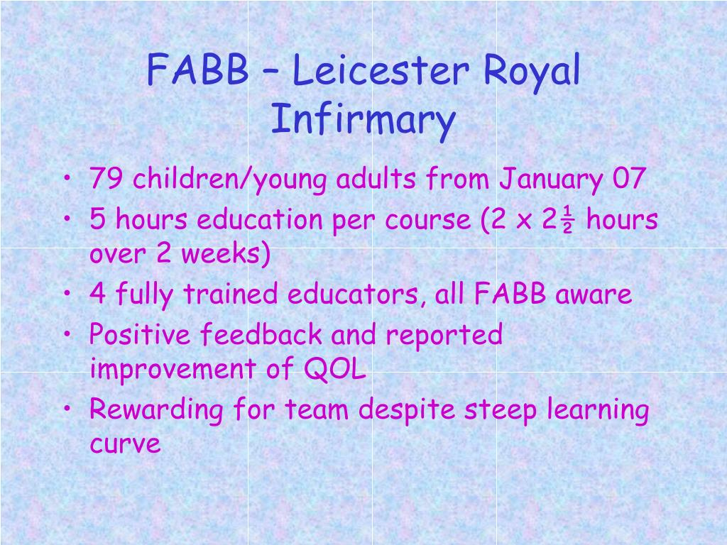 FABB – Leicester Royal Infirmary