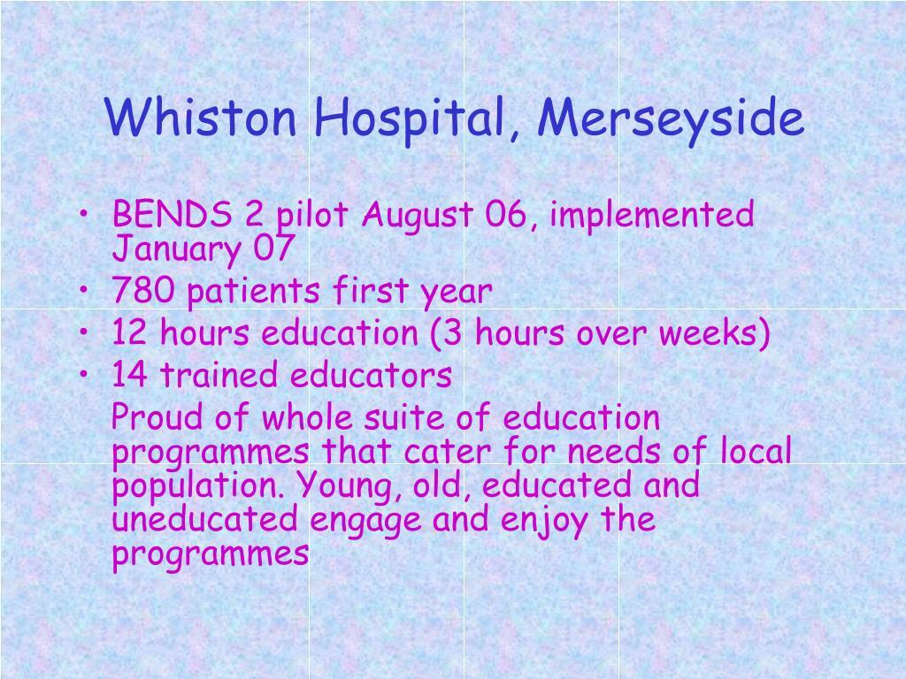 Whiston Hospital, Merseyside