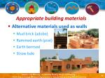 appropriate building materials17