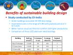 benefits of sustainable building design23