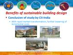 benefits of sustainable building design24