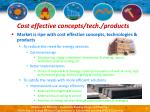 cost effective concepts tech products