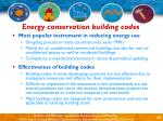 energy conservation building codes35