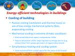 energy efficient technologies in buildings12