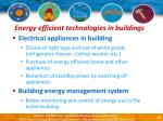 energy efficient technologies in buildings14