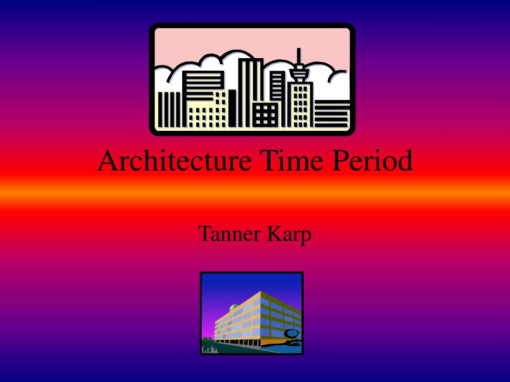 architecture time period l.
