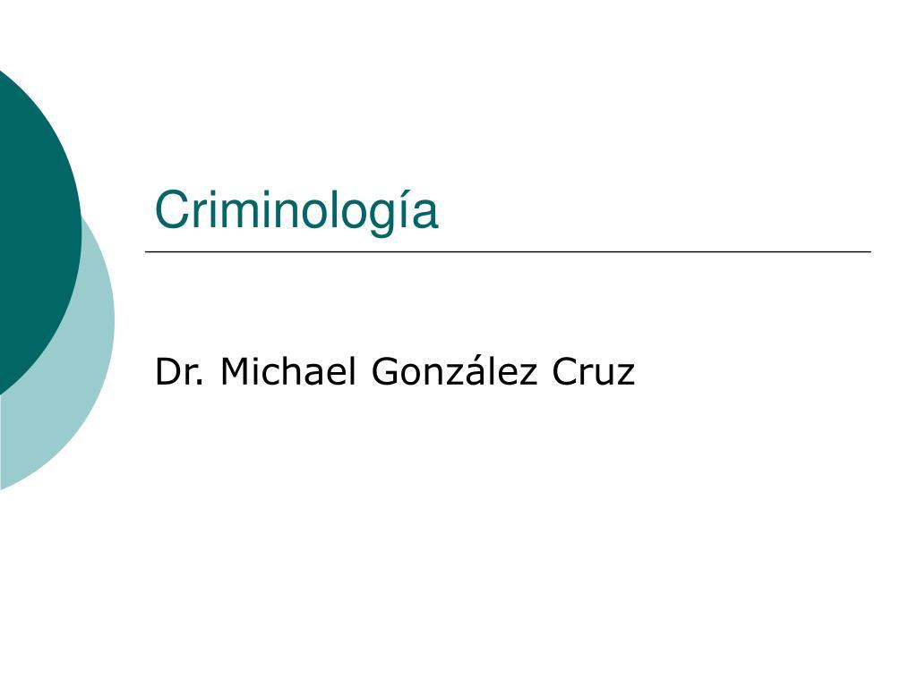 criminolog a l.