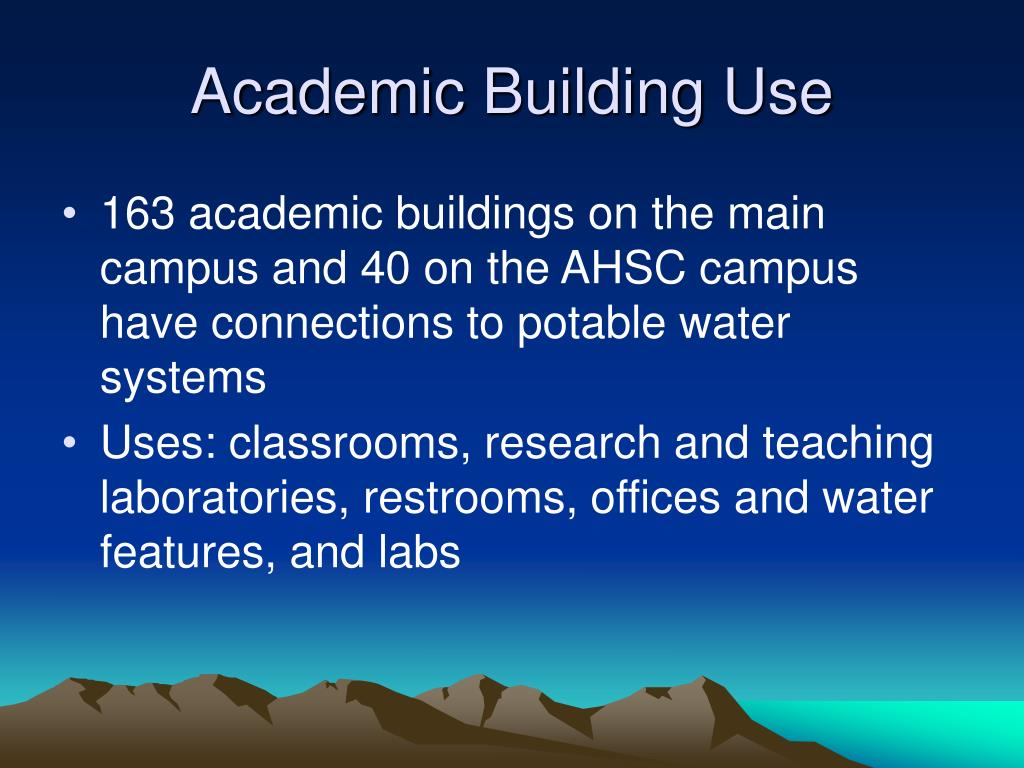 Academic Building Use
