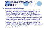 motivational interviewing strategies53