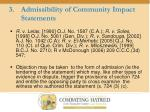 admissibility of community impact statements8