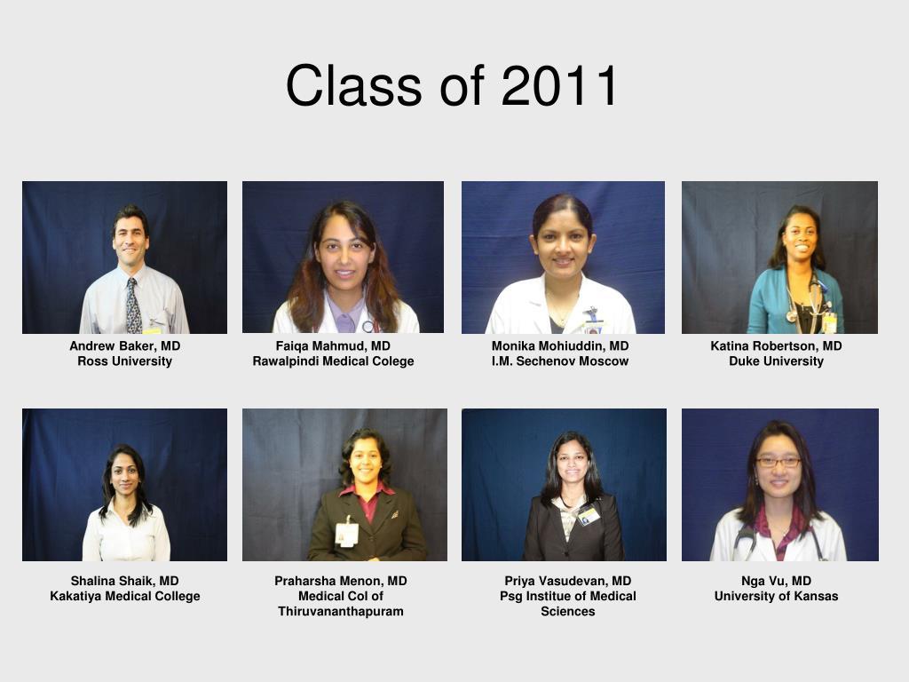 class of 2011 l.