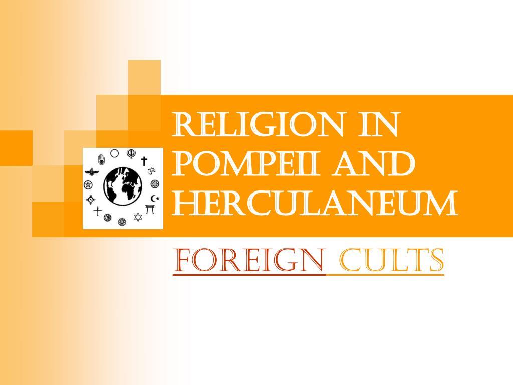 religion in pompeii and herculaneum l.