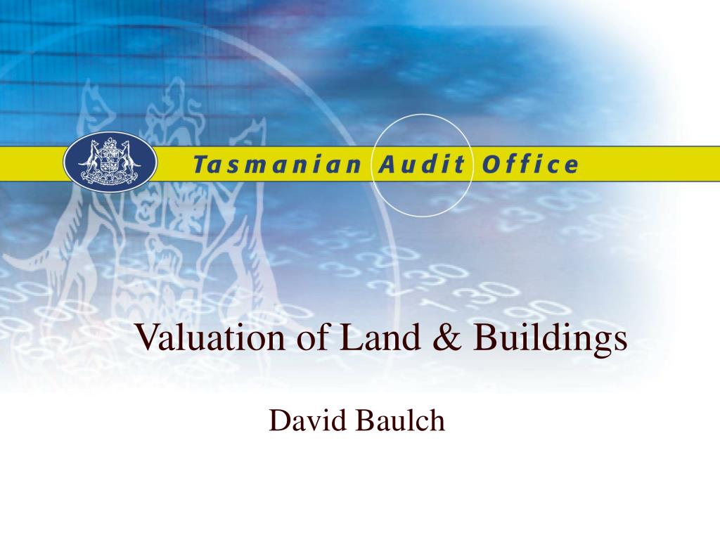 valuation of land buildings l.