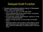 delayed graft function54