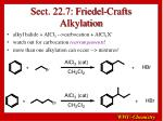sect 22 7 friedel crafts alkylation