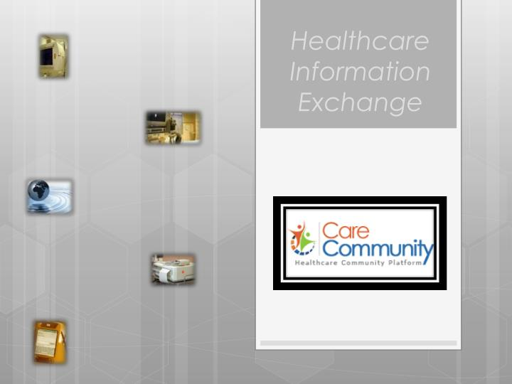 healthcare information exchange n.
