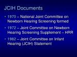 jcih documents