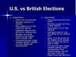u s vs british elections