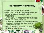 mortality morbidity