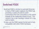 switched fddi