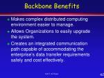 backbone benefits