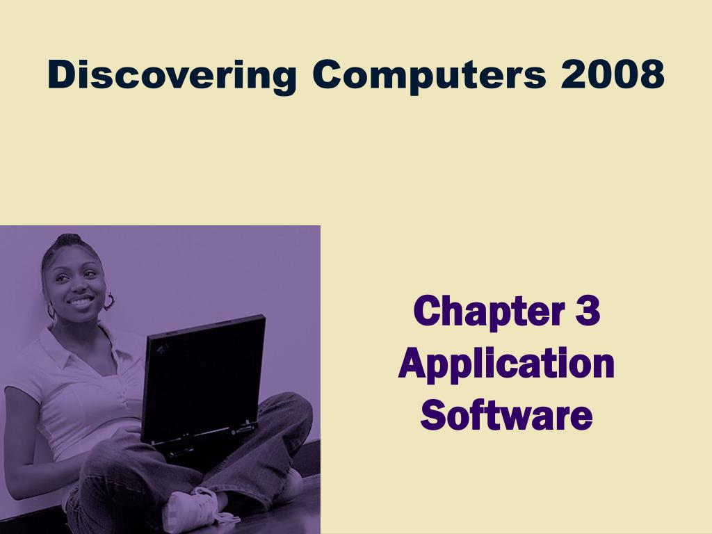 chapter 3 application software l.