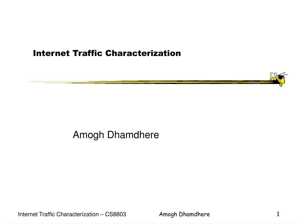internet traffic characterization l.